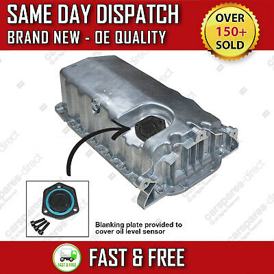 VOLKSWAGEN GOLF Mk4 1.9 TDI 1998>2006 ENGINE OIL SUMP PAN WITH BLANKING PLATE