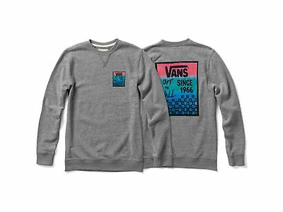 Vans Checked In Crew Sweater X-Large