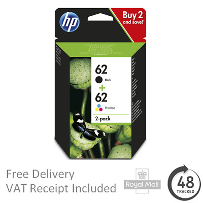 Original HP 62 Black & Colour Ink Cartridge for HP ENVY 5640