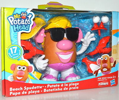 Playskool Mr Potato Head Beach Spudette 17 piece