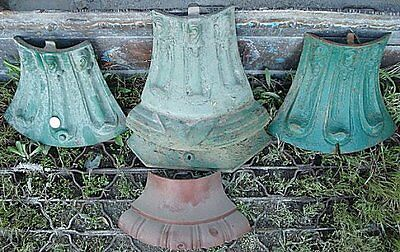 Original Antique Cast Iron Lamppost/Lamp Post Doors*CHOICE*USED*Free Shipping