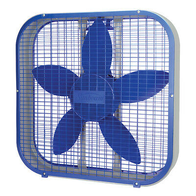 Sunbeam 20-inch Box Fan - Blue SBF2012BLU-CN