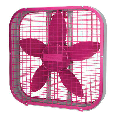Sunbeam 20-inch Box Fan - Pink SBF2012PNK-CN