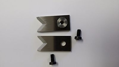 """Schleuniger 9300 """"V"""" Style Replacement Blades ,1 Pair (2 pieces)"""