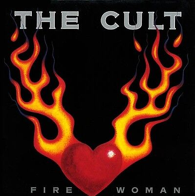 "THE CULT - Fire woman -  UK7"" 1989 P/S EX/EX"