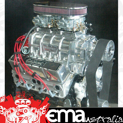 Supercharged Chev 383 Turnkey Engine 580Hp/550 Ft Lbs Roller Cam Alloy Heads