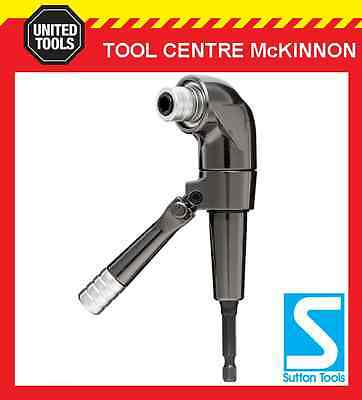 """P&n By Sutton Tools 1/4"""" Hex Right Angle Drill / Driver Attachment"""