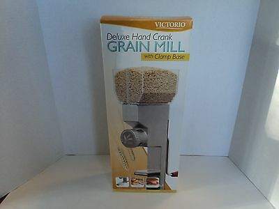Victorio DELUXE HAND CRANK Food Mill Grinder Large Stainless Steel VKP1024