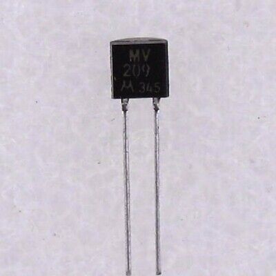 5x DIODE MV209 TUNING EPICAP 30V TO92-2