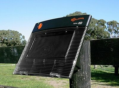 GALLAGHER S20 SOLAR ELECTRIC FENCE CHARGER ENERGIZER 5Mile/14acre/ Free Tester