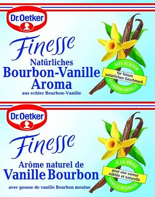 DR.OETKER - NATURAL BOURBON VANILLA FLAVOR - German Product