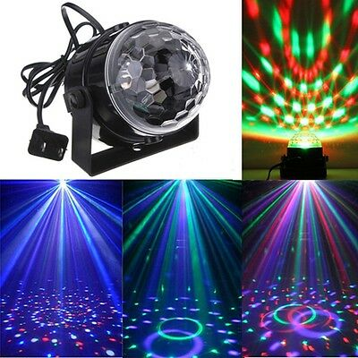 Best Promotion Mini RGB LED Crystal Magic Ball Stage Effect Lighting Lamp Party