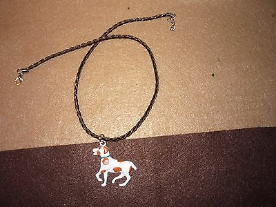 Brittany Spaniel Dog Necklace