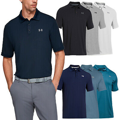 2018 Under Armour Mens HeatGear Performance 2.0 Polo Shirt - UA Golf Tech Top