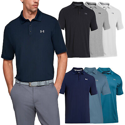 Under Armour Mens Heatgear Performance 2.0 Polo Shirt - Ua Golf Tech Top 2017