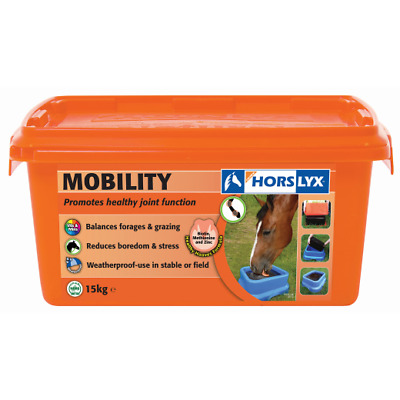 Horslyx 15kg Mobility Stable/Paddock Horse Lick
