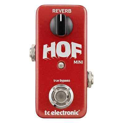 TC Electronic Hall of Fame Mini Compact Reverb Guitar Effects Pedal NEW FREE P&P
