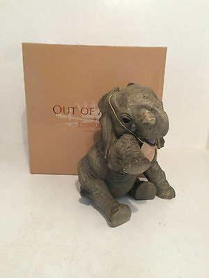 Out of Africa by Sitting Missing You Elephant Figurine Ornament *BRAND NEW BOX*