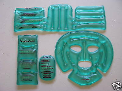 Instant Heat Hot Pad Pack Snapheat.com 4 piece Spa Set --- MADE IN THE USA