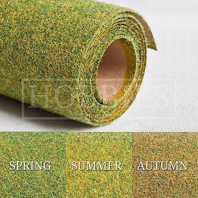 "Hairy Grass Landscape Mat Roll 48"" x 24"" Javis Wargame 00 N Gauge Model Railways"