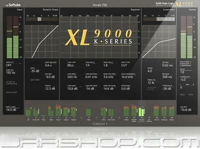 Softube SSL XL 9000K Plugin for Console 1 eDelivery JRR Shop