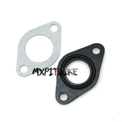 19mm Carburetor Manifold Intake Pipe Gasket Spacer Seal Pit Dirt Bike ATV Quad