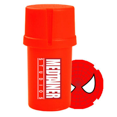 Med Tainer - Comic Collection - 20 dram Smell Proof Grinder - Tainer