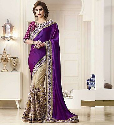 Indian Women Wedding Designer Party Wear New Bollywood Latest Ethnic Sari Saree