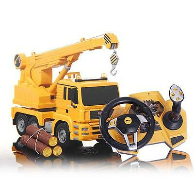 RC Toy Radio Control Car Heavy Industry Construction Crane Engineer Vehicle E526