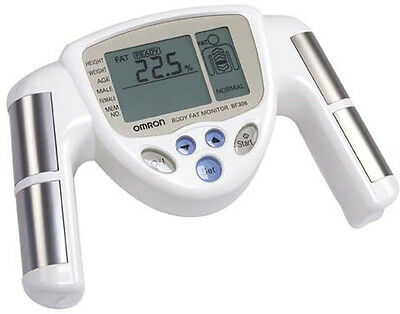 Omron BF306 Exercise & Fitness Hand Held Body Composition Fat Analyser Monitor