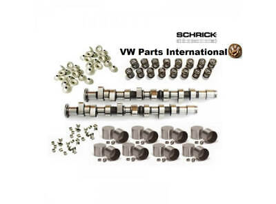 VW GOLF MK3 VR6 Performance Complete Schrick Camshaft Kit with 276° Sync Bran...