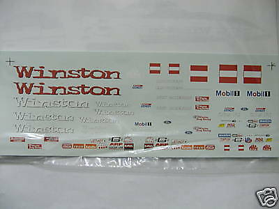 Winston Funny Car 97 Whit Bazemore decals