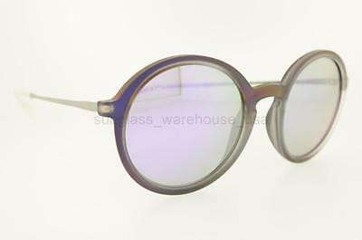 34d6810221 Ray-Ban Rb 4222 61684V 50Mm Rubber Violet Frame Violet Mirror Lenses  Sunglasses