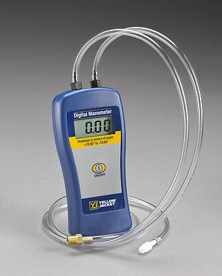 Ritchie Yellow Jacket 78052 Digital Dual Port Manometer **Free Shipping**