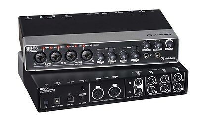 Steinberg UR44 4x6 USB Audio Recording Interface with Cubase AI Software Retail