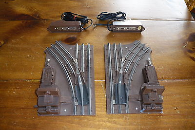 Lionel O27 Gauge Remote Control Right And Left Switches #5122 5121 + Controllers