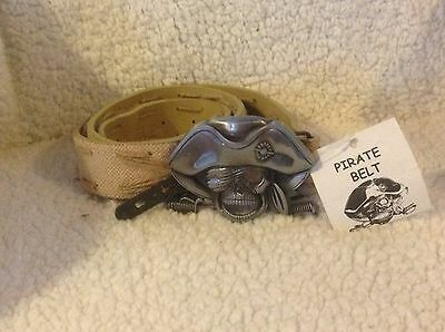 Deluxe Pirate belt BUCKLE ONLY