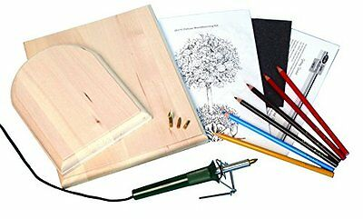 Walnut Hollow Woodburning Kit, Deluxe Crafts Painting Drawing Art New Gift