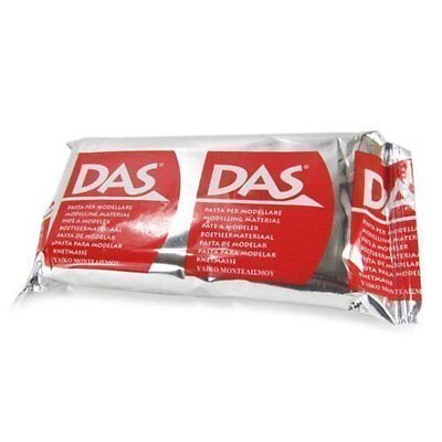 DAS Air Drying Self Hardening Modelling Sculpting Craft Clay White | 150g Pack