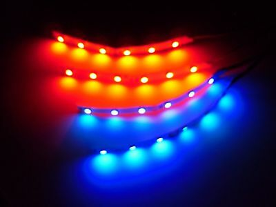 RC Blue and Red Underbody 3528 LED Strip Lights Superbright FPV Quadcopter Plane