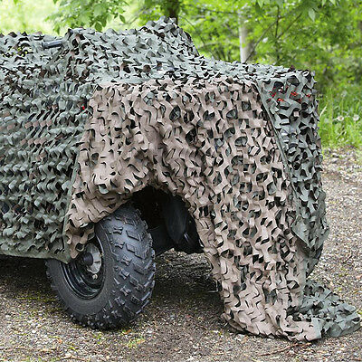 Camouflage Hunting Shooting Net Hide Military Army Camo Netting 2 3 4 5 7 & 10M