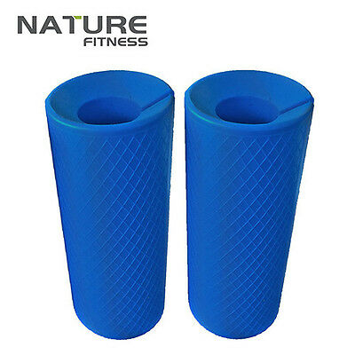 Barbell Dumbbell Thick Fat Bar Hand Grips Fitness Exercise Gripz