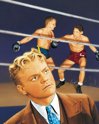 City for Conquest James Cagney boxing fight artwork 16x20 Poster