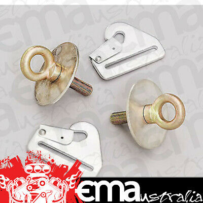Simpson Harness Floor Mounting Kit 2 X Eyebolts 2 X Clips 2 X Washers Si31020