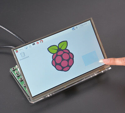 "7"" inch HDMI Touch LCD Screen Pannel high-definition 1024*600 for Raspberry Pi"