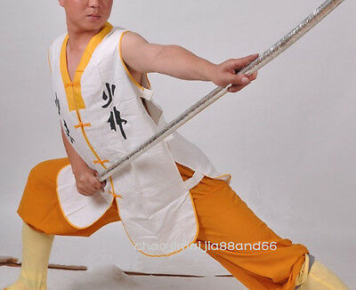 Kids& Adult Martial arts Wing chunTai chi Shaolin Kung Fu Cotton linen Vest Coat