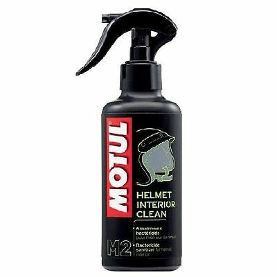 MOTUL HELMET INTERIOR CLEANER/SPRAY/250ml MOTORCYCLE/MOTORBIKE ROAD/OFF ROAD