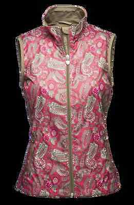 Daily Women's Golf Vest Camilla 543/420 Size Large Nwt