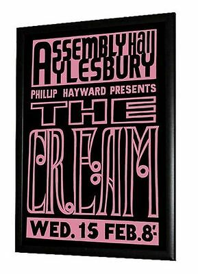 Cream Eric Clapton Concert Poster Assembly Hall Aylesbury 1967