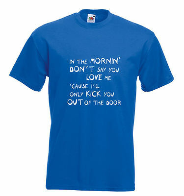 Faces Rod Stewart Inspired Lyrics T Shirt - Stay With Me 18 Colours - All Sizes